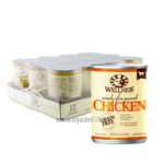 Wellness Mixers & Toppers - 95% Chicken Canned Dog Food, 374g, Case of 12
