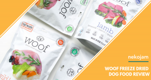 WOOF Freeze Dried Dog Food Review featured image