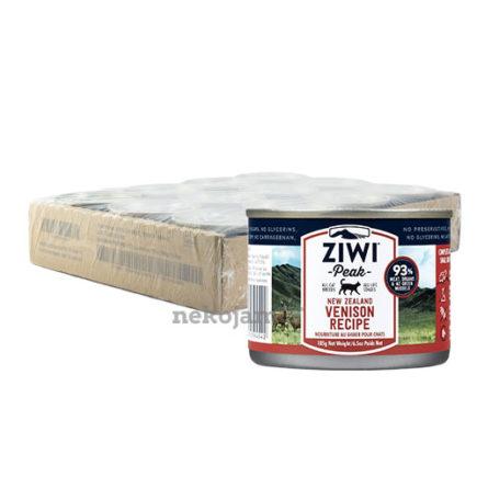 ZiwiPeak Venison Canned Cat Food (Improved Formula), Case of 12