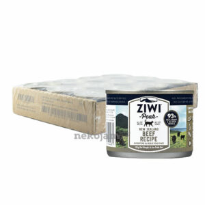 ZiwiPeak Beef Canned Cat Food (Improved Formula), Case of 12