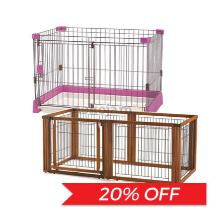 20% OFF: Richell Pet Crate