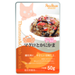 Petz Route Tuna & Crab Sticks Cat Pouches, 50g, Case of 12