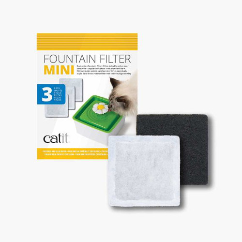 Hagen Catit Flower Drinking Fountain Mini Replacement Filter