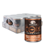 Wellness Core - Turkey, Chicken Liver and Turkey Liver Canned Dog Food, 354g, Case of 12