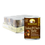 Wellness - Turkey and Duck Stew with Sweet Potatoes and Cranberries Canned Dog Food, 354g, Case of 12