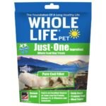 Whole Life Pet Just-One Ingredient Pure Cod Freeze-Dried Dog Treats, 1.6oz