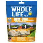 Whole Life Pet Just-One Ingredient Pure Chicken Freeze-Dried Dog Treats, 3oz