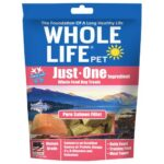 Whole Life Pet Just-One Ingredient Pure Salmon Freeze-Dried Dog Treats, 2oz