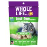 Whole Life Pet Just-One Ingredient Pure Cod Freeze-Dried Cat Treats, 0.8oz