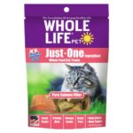 Whole Life Pet Just-One Ingredient Pure Salmon Freeze-Dried Cat Treats, 1oz