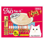 Ciao Churu Tuna & Scallop Liquid Cat Treat Jumbo 40-Pack