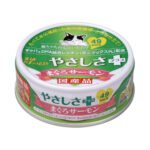 SANYO Tama No Densetsu Gourmet Tuna with Salmon Canned Cat Food, 70g