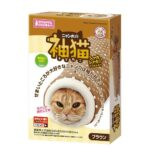 Marukan Sleeve Shaped Tunnel for Cats (Brown)