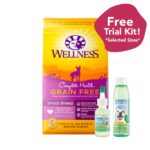 Wellness Complete Health Grain Free Dry Dog Food for Small Breeds