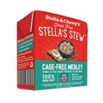 Stella & Chewy's Cage-Free Medley Stew (Chicken, Turkey & Duck)