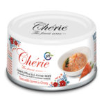 Cherie Urinary Care Tuna with Carrot in Gravy Canned Cat Food, 80g