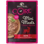 Wellness Core - Mini Meals Pâté Chicken & Beef Canned Food for Small Breed Dogs