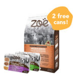 FREE 2 CUPS WET FOOD: Zoë Medium Breed Turkey, Chickpea & Sweet Potato Dry Dog Food, 5kg
