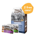 FREE 2 CUPS WET FOOD: Zoë Medium Breed Chicken, Quinoa & Black Bean Dry Dog Food, 5kg