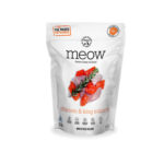 Meow Chicken & King Salmon Freeze-Dried Cat Food
