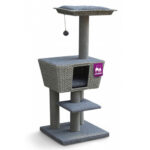 Pet Rebels Carribean Sun 114 Bohemian Cat Tree in Grey