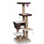 Pet Rebels Carribean Love 141 Bohemian Cat Tree in Water Hyacinth