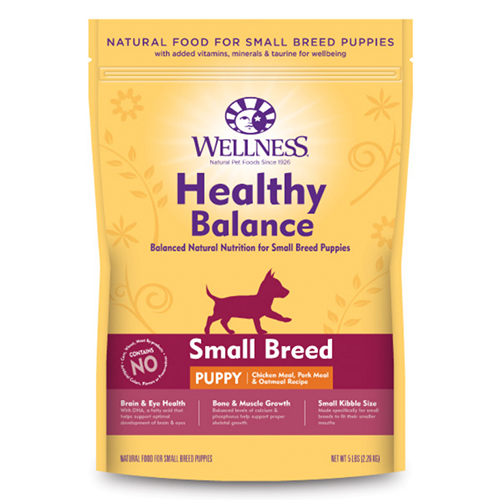 Wellness Healthy Balance Chicken Meal Pork Meal Oatmeal Small