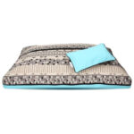 DreamCastle Blue Scandinavia Natural Dog Bed
