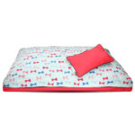 DreamCastle Sweet Bon Bon In Blue Natural Dog Bed