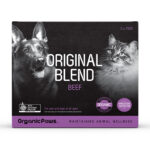 Organic Paws ORIGINAL BLEND Beef Frozen Raw Cat & Dog Food