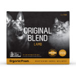 Organic Paws ORIGINAL BLEND Lamb Frozen Raw Cat & Dog Food
