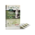 Solano Ecolife Cat Spot On - Natural Repellent Protection Against Fleas, Ticks and Mosquitoes (Large)