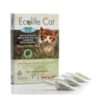 SOLANO Ecolife Cat Spot On - Natural Repellent Protection Against Fleas, Ticks and Mosquitoes (Small)