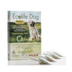 Solano Ecolife Dog Spot On - Natural Repellent Protection Against Fleas, Ticks and Mosquitoes (Medium)