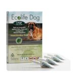 Solano Ecolife Dog Spot On - Natural Repellent Protection Against Fleas, Ticks and Mosquitoes (Large)