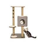 Lulu's World Lu-Cubox High Base Cat Furniture in Oak