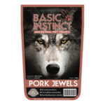 Basic Instinct Pork Jewels Natural Dog Treats