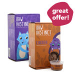 MIX & MATCH: Raw Instinct CLASSIC Frozen Raw Cat Food 4-Pack Bundle
