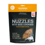Honest Kitchen Nuzzles Grain-Free Duck & Cherry Bite-Sized Dog Cookies