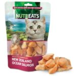 Nutreats Freeze Dried New Zealand Ocean Salmon Cat Treats