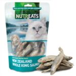 Nutreats Freeze Dried Whole King Salmon Cat Treats