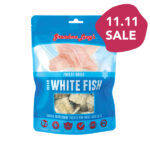 Grandma Lucy's Singles Freeze-Dried Ocean White Fish Treats, 2oz