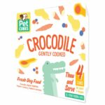 Pet Cubes Complete Crocodile Frozen Cooked Dog Food