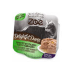 Zoe Delightful Duets Salmon & Tuna in Gravy Grain-Free Wet Cat Food, 80g