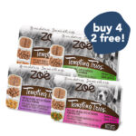 BUY 4 FREE 2: Zoe Tempting Trios Grain-Free Wet Dog Food, 100g