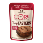 Wellness CORE Tiny Tasters Chicken & Beef Pate Wet Cat Pouches, 1.75oz