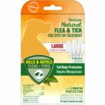 Tropiclean Natural Flea & Tick Spot-On Treatment For Large Dogs