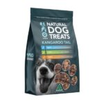 Uno Doggo Kangaroo Tail Disk Natural Dog Treats, 250g