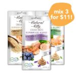 3 FOR $11: Natural Kitty Superfood Blend Creamy Cat Treats