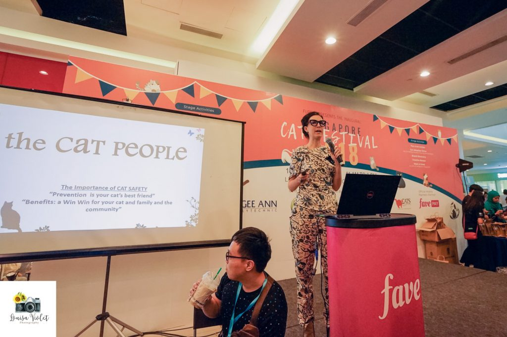the cat people sharing session singapore cat festival 2018 facebook